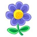 Çiçekler ve Yapraklar Teması