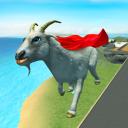 Flying goat rampage go