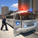 Police Bus Prison Transport 3D