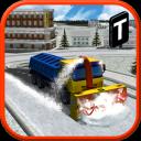 Snow Blower Truck Sim 3D