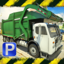 3D Garbage Truck Parking