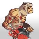 Zombie Warrior Man 18+