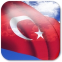 3D Turkey Flag LWP