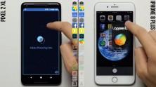 Pixel 2 XL ve iPhone 8 Plus Hız Karşılaştırması