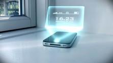 iPhone Hologram Saati