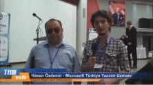 Microsoft Türkiye Yazılım Uzmanı Hasan Özdemir ile Röportajımız