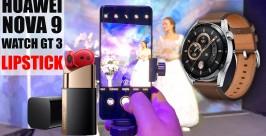 Huawei Nova 9, FreeBuds Lipstick, Watch GT 3 Tanıtımı
