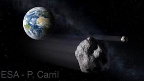 Dünya'ya Meteor Çarpabilir!