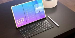 Samsung, Katlanabilir Ekranlı Galaxy X ile Apple'a Kafa Tutacak