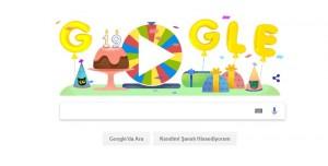 Google'ın Doğum Günü Çarkıfeleği 19. Yaş Doodle'ı Oldu