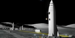Elon Musk, Mars Kenti ve Ay Üssü X'in Tasarımlarını Paylaştı