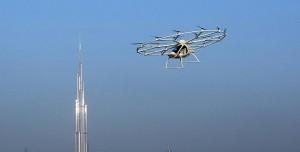 Dubai Uçan Taksileri Test Ediyor
