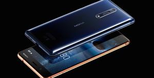Nokia'nın İlk Amiral Gemisi Nokia 8 Hindistan'da Satışa Çıktı