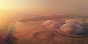 Birleşik Arap Emirlikleri Mars'ta Bilim Kenti Kuracak