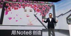 Samsung Galaxy Note 8, Çin'de Satamıyor