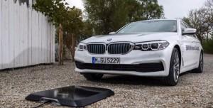 BMW'nin Elektrikli Otomobillerine Kablosuz Şarj Desteği Geliyor