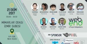 Webend Proje Hikayeleri 21 Ekim'de İzmir'de