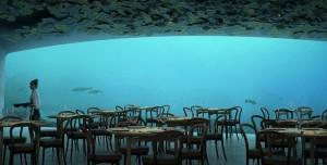 Su Altı Restoranı, Tasarımıyla Büyülüyor