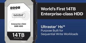 Western Digital, Dünyanın İlk 14TB Helyum HDD'sini Satışa Sunuyor