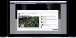 Facebook Live'da Ekran Paylaşma Özelliği Keşfedildi