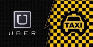 Türk Taksiciler Uber'e Karşı Bir Araya Geldi