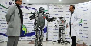 Milli İnsansı Robotumuz Seri Üretime Geçiyor