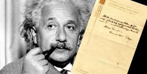 Albert Einstein'ın Mutluluk Teorisi 1 Milyon 560 Bin Dolara Satıldı