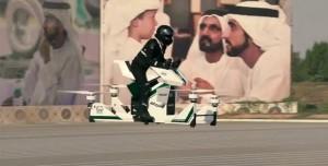 Dubai Polisi, Suçluları Uçan Motosiklet 'Hoverbike' İle Yakalayacak