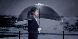 Dünyanın En Akıllı Şemsiyesi Air Shield Umbrella İle Tanışın
