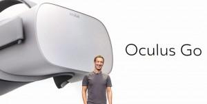 Facebook, VR Kulaklık Seti Oculus Go'yu Tanıttı