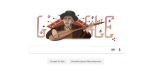 Google, Ünlü Halk Ozanımız Aşık Veysel'e Özel Doodle Hazırladı