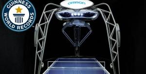 Guinness Rekorlu Masa Tenisi Robotuna Hayran Kalacaksınız!