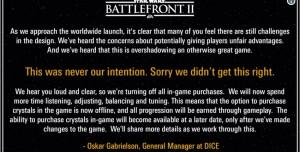 EA, Oyuncuların Önünde Diz Çöküp Tövbe İstedi!