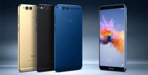 Huawei'nin Yeni Orta Seviye Akıllı Telefonu Honor 7X Tanıtıldı
