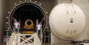 Türkiye'nin İlk Uydu Merkezi Görüntülendi