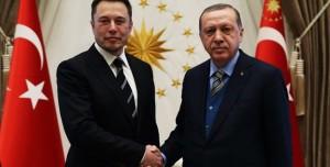 Elon Musk, Erdoğan'la Bir Araya Geldi!