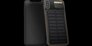 Caviar, Güneş Panelli iPhone X'i Tanıttı