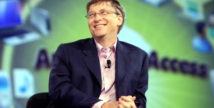 Bill Gates, Hamburger Kuyruğunda Görüldü!