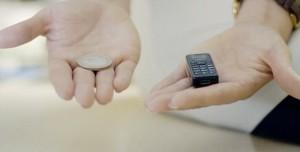 İşte Dünyanın En Küçük Cep Telefonu