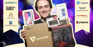 Tamindir.com Yeni Yıl (2018) Kampanyasında iPhone X ve Birçok Ödül Sizi Bekliyor