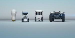 Honda, Birbirinden Sevimli 4 Robot Konseptini Duyurdu