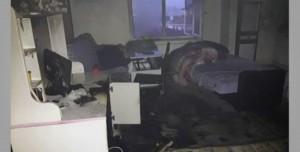 Gece Açık Kalan Bilgisayar Yangına Neden Oldu