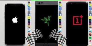 iPhone X, Razer Phone ve OnePlus 5T Hız Testinde Karşı Karşıya