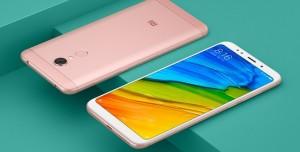 Çerçevesiz Ekranlı Xiaomi Redmi 5 ve Redmi 5 Plus Tanıtıldı