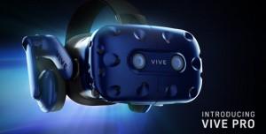HTC Vive Pro Sanal Gerçeklik Sistemi Duyuruldu!