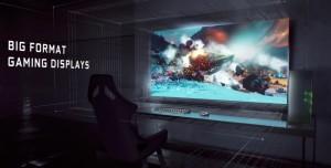Nvidia, G-Sync Destekli Televizyon Boyutundaki Panelleri Tanıttı