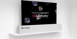 LG'nin 65-İnç'lik Kıvrılabilen OLED TV'si Ortaya Çıktı