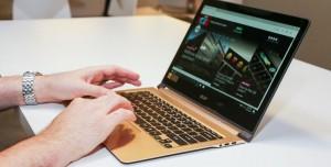 Acer Yepyeni Dört Dizüstü Bilgisayarını Duyurdu