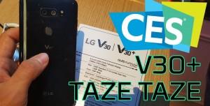 LG V30+ Ön İnceleme - CES 2018 Özel