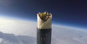 Türk Gurbetçi Uzaya Kebap Gönderdi